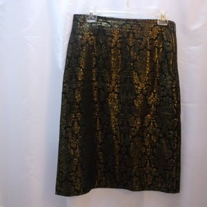 Worthington Patterned Pencil Skirt